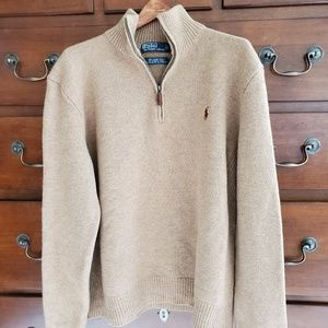 Polo by Ralph Lauren 100% Lambswool Sweater, L